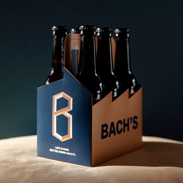 Bach's Beer Sixpack